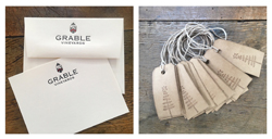 Letterpress Note and Gift Tags