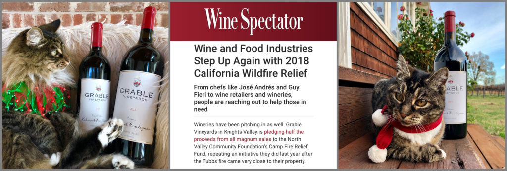 Wine Spectator & Grable Vineyards